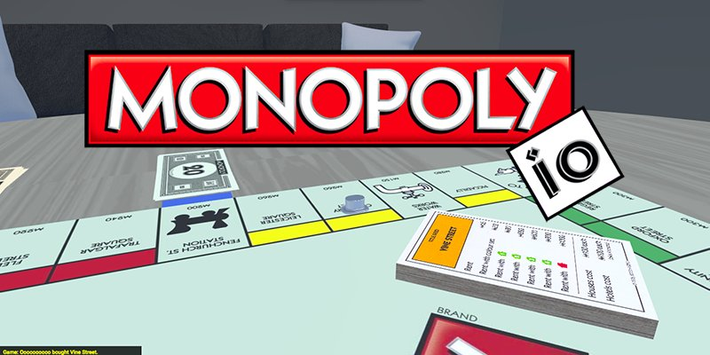 Monopoly.io thumbnail image. Play IO Games at iogames.network!