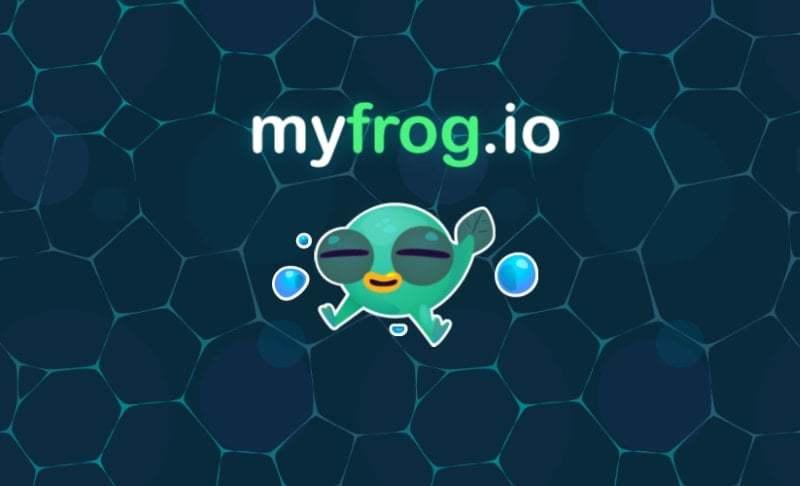 MyFrog.io thumbnail image. Play IO Games at iogames.network!