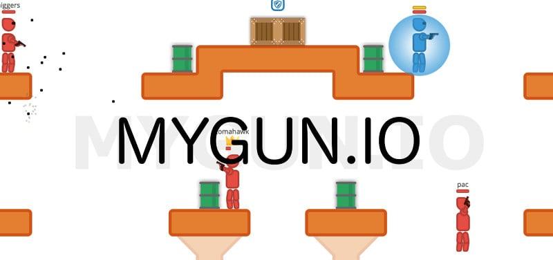 MyGun.io thumbnail image. Play IO Games at iogames.network!