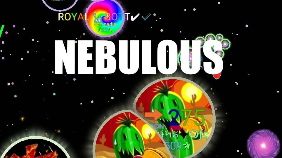 Nebulous thumbnail image. Play IO Games at iogames.network!