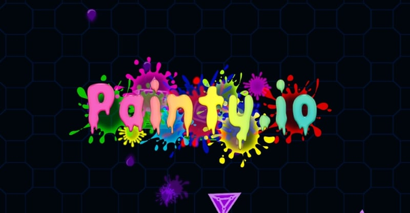 Painty.io thumbnail image. Play IO Games at iogames.network!