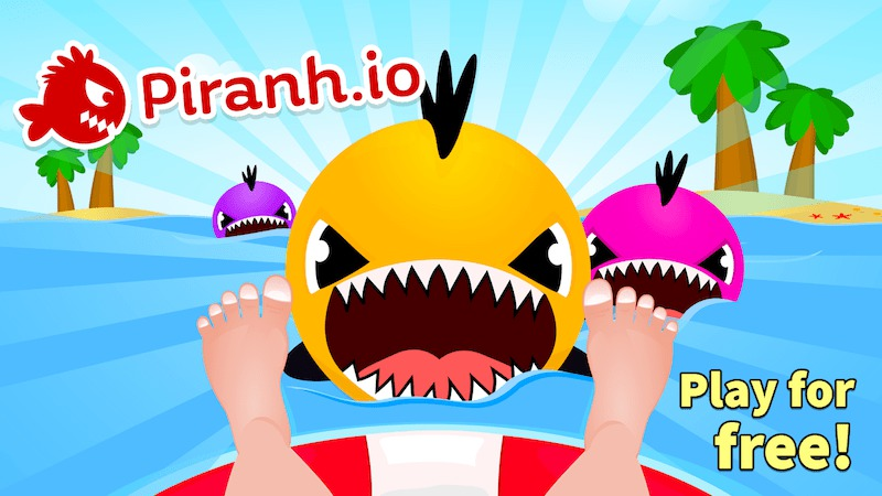 Piranh.io thumbnail image. Play IO Games at iogames.network!