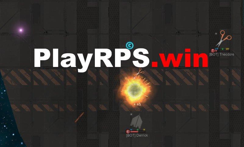 PlayRPS.win thumbnail image. Play IO Games at iogames.network!
