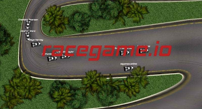 RaceGame.io thumbnail image. Play IO Games at iogames.network!