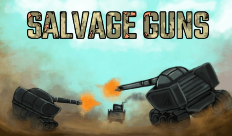 Salvage Guns thumbnail image. Play IO Games at iogames.network!