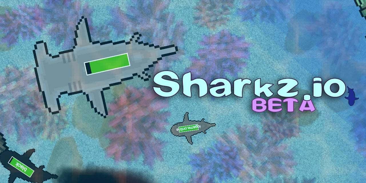 Sharkz.io thumbnail image. Play IO Games at iogames.network!