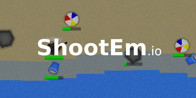 ShootEm.io thumbnail image. Play IO Games at iogames.network!