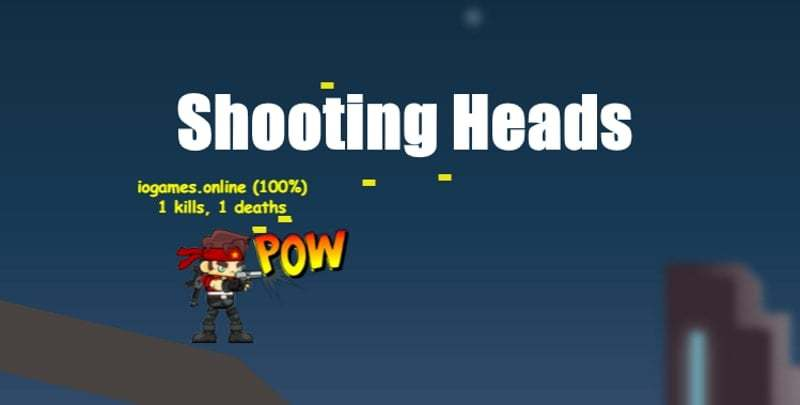 ShootingHeads thumbnail image. Play IO Games at iogames.network!
