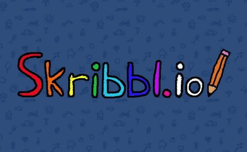 Skribbl.io thumbnail image. Play IO Games at iogames.network!