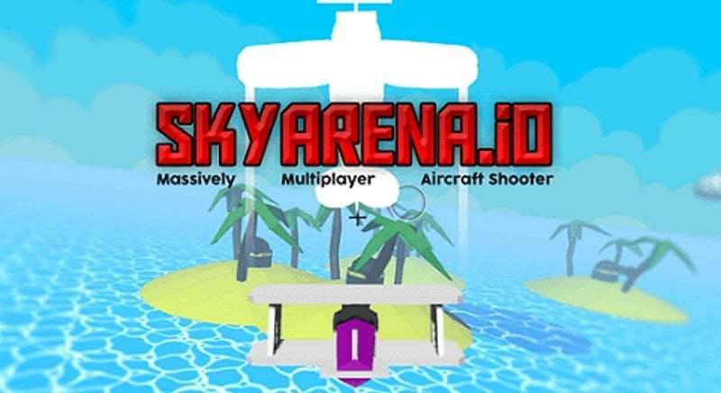 SkyArena.io thumbnail image. Play IO Games at iogames.network!