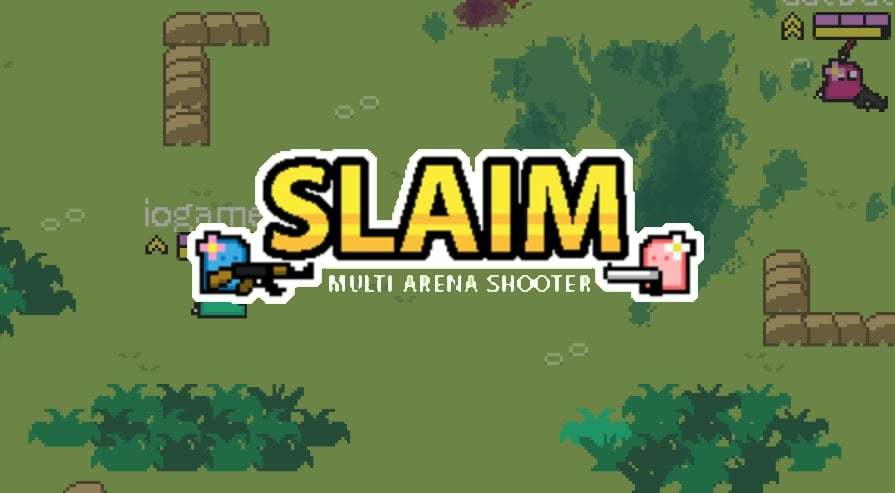 Slaim.io thumbnail image. Play IO Games at iogames.network!