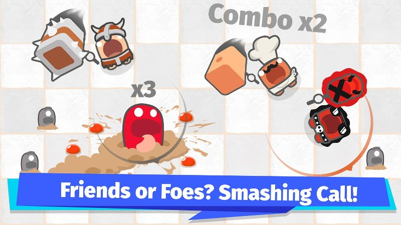Smashers.io thumbnail image. Play IO Games at iogames.network!