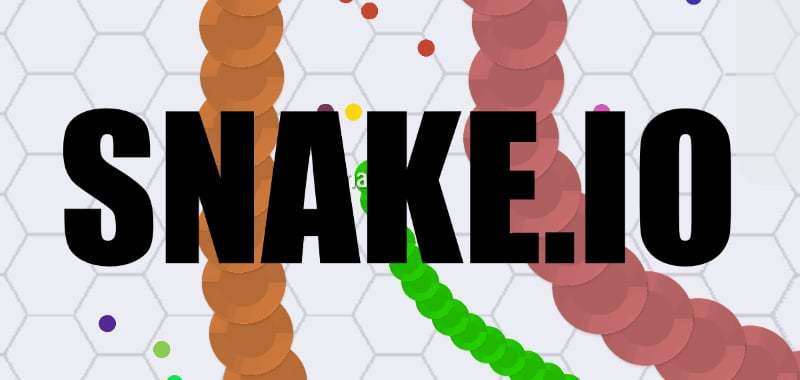 Snake.io thumbnail image. Play IO Games at iogames.network!