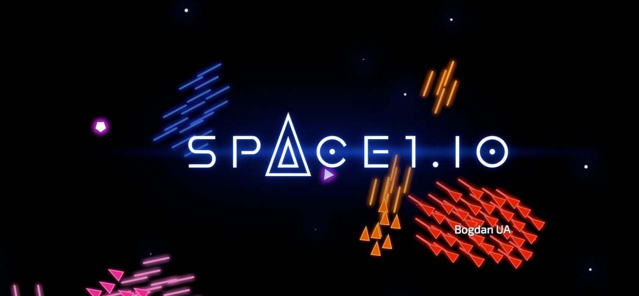 Space1.io thumbnail image. Play IO Games at iogames.network!