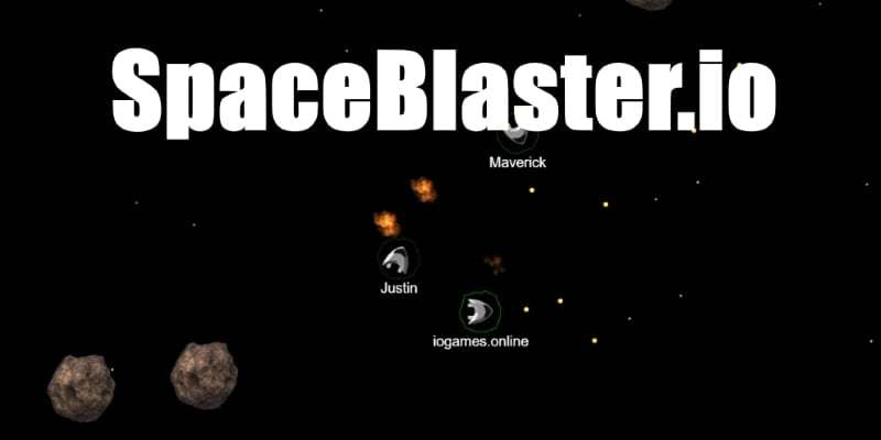 SpaceBlaster.io thumbnail image. Play IO Games at iogames.network!