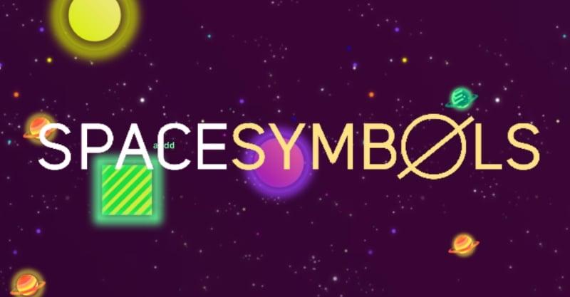 SpaceSymbols.io thumbnail image. Play IO Games at iogames.network!