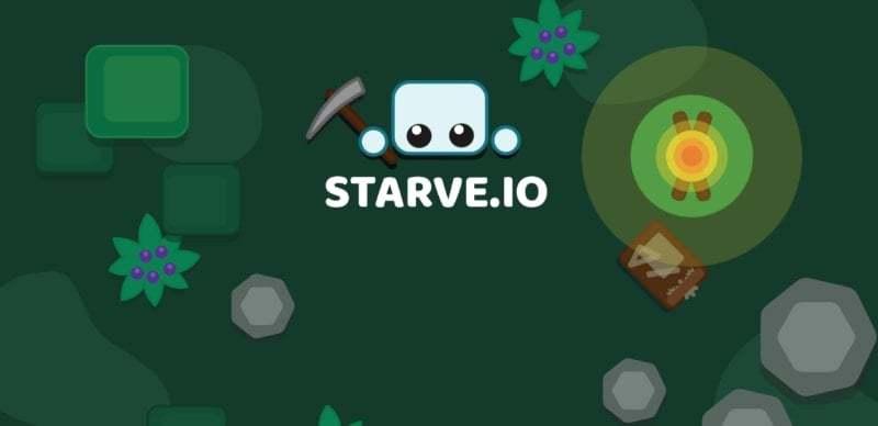 Starve.io thumbnail image. Play IO Games at iogames.network!