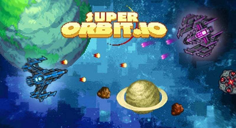 Superorbit.io thumbnail image. Play IO Games at iogames.network!