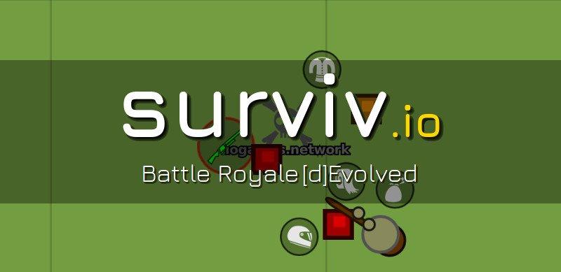 Surviv.io thumbnail image. Play IO Games at iogames.network!