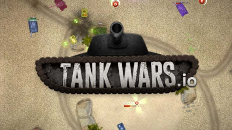 TankWars.io thumbnail image. Play IO Games at iogames.network!