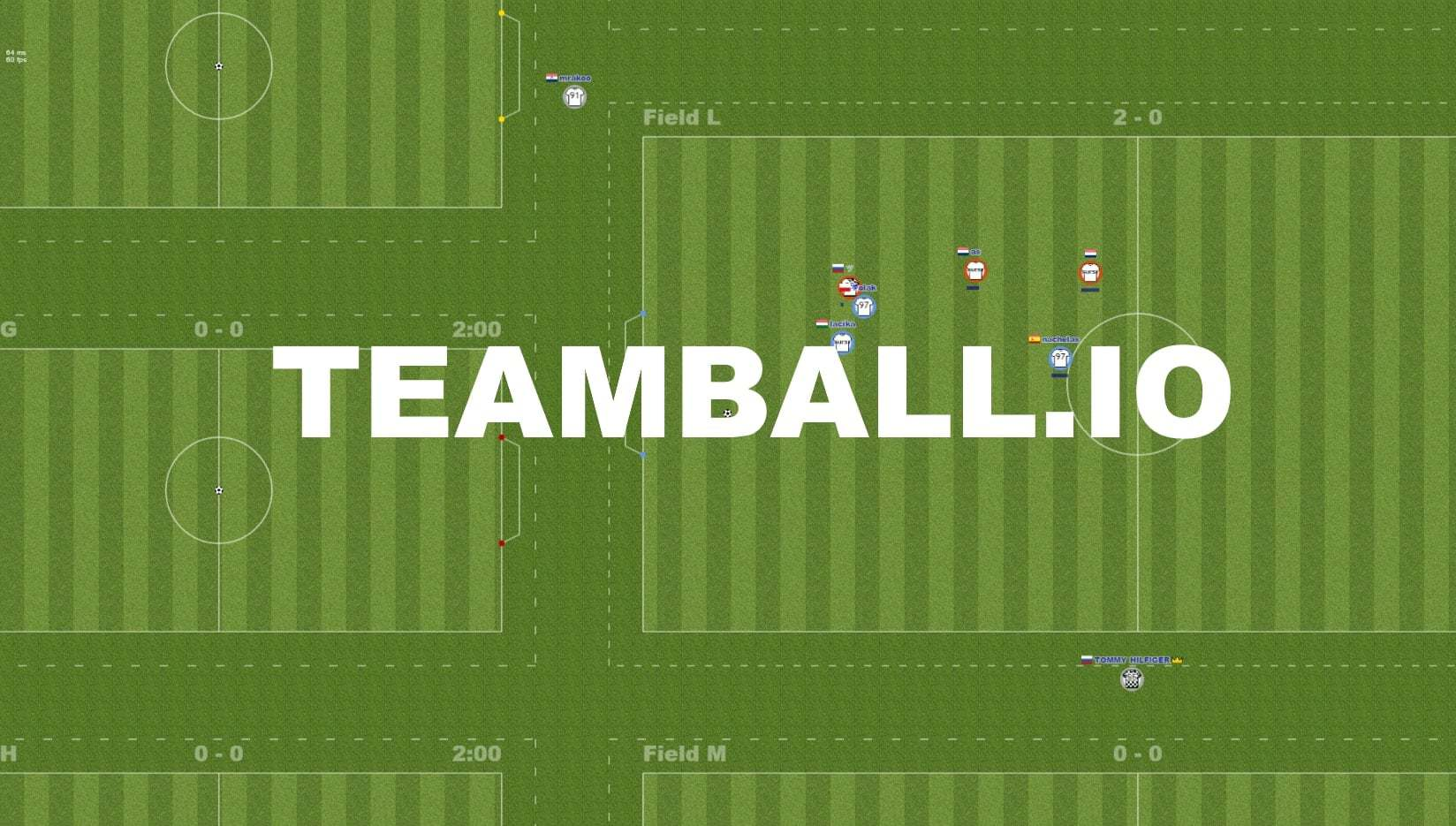 Teamball.io thumbnail image. Play IO Games at iogames.network!