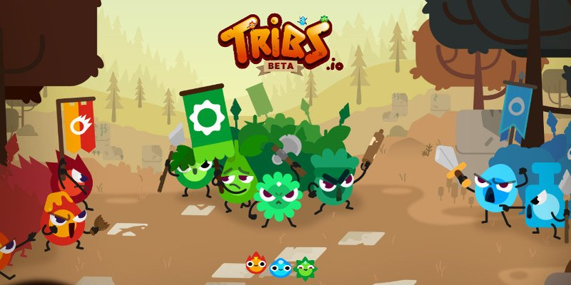 Tribs.io thumbnail image. Play IO Games at iogames.network!