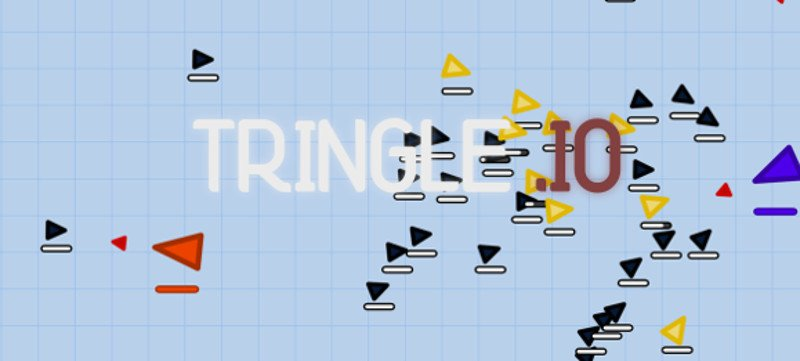 Tringle.io thumbnail image. Play IO Games at iogames.network!