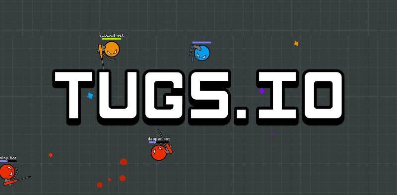 Tugs.io thumbnail image. Play IO Games at iogames.network!