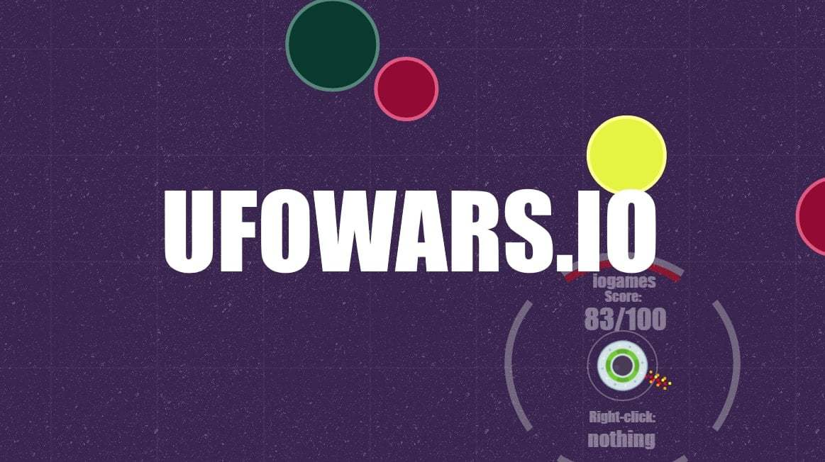 UfoWars.io thumbnail image. Play IO Games at iogames.network!
