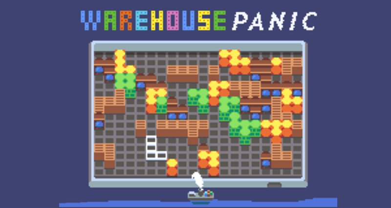 WarehousePanic.io thumbnail image. Play IO Games at iogames.network!