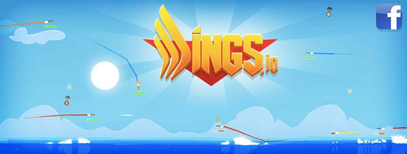 Wings.io thumbnail image. Play IO Games at iogames.network!