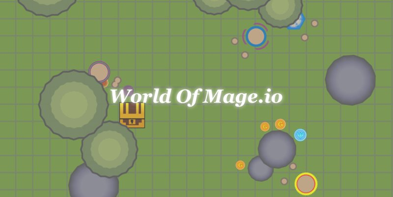 WorldOfMage.io thumbnail image. Play IO Games at iogames.network!