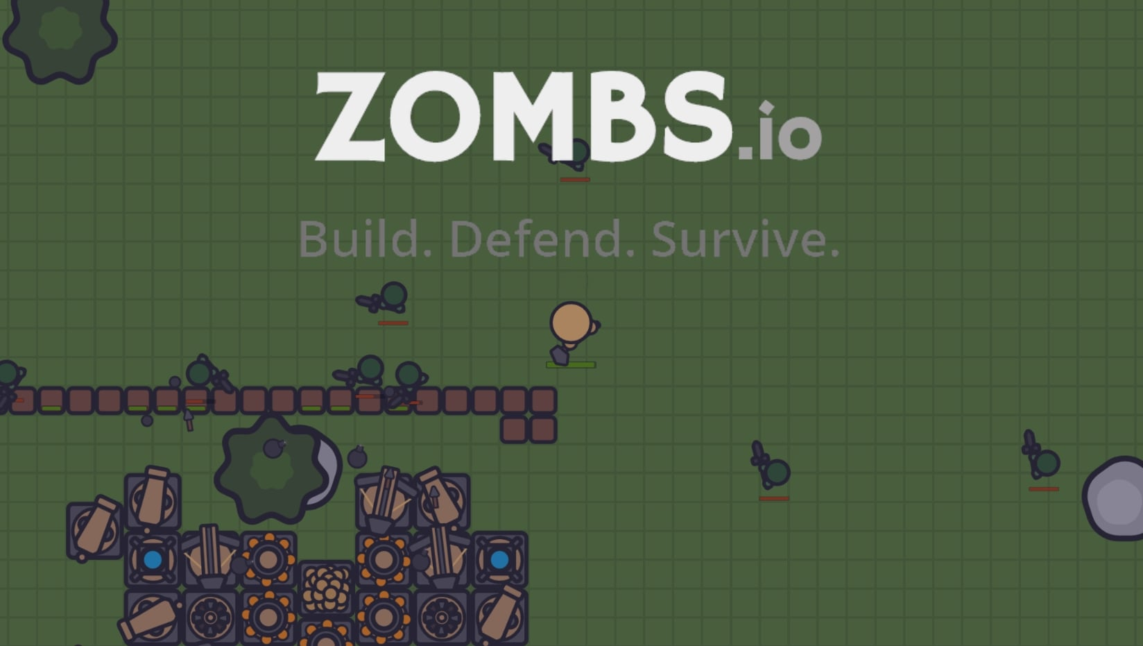Zombs.io thumbnail image. Play IO Games at iogames.network!