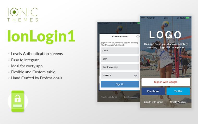 loginpage template