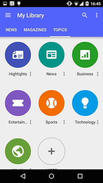 Google Play Newsstand News