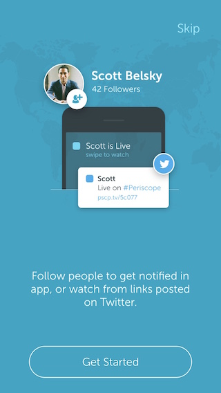 Periscope Social Networking