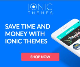 ionic templates