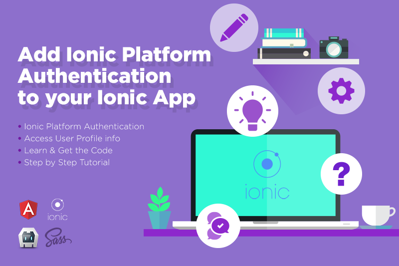 add ionic platform authentication to your ionic app