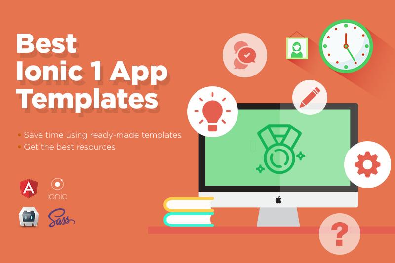 Best Ionic 1 App Templates
