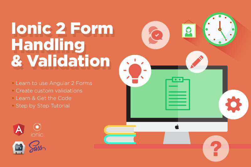 Ionic 2 Form Handling & Validation | Tutorials | IonicThemes