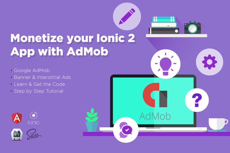 Monetize your Ionic 3 App with AdMob