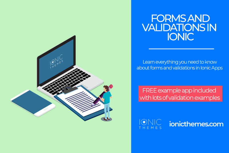 Ionic tutorial: Forms and Validations in Ionic 4