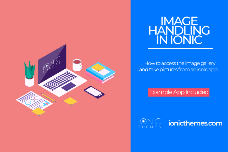 Image handling in an Ionic 3 app