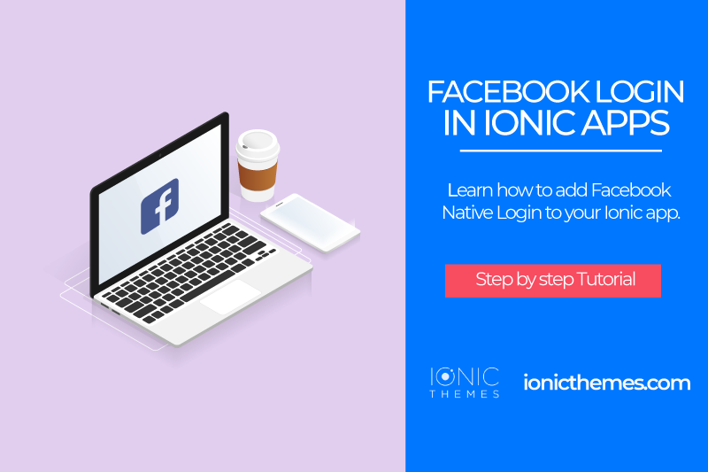 Ionic 4 Facebook Log In