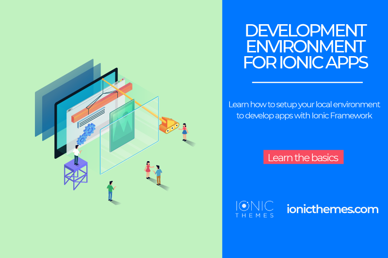 Setup your development environment to build Ionic apps