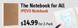 IPEVO Notebook - The notebook for all