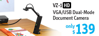 VZ-1 HD VGA USB Document Camera