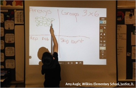 "Turn your screen into a ""whiteboard"" and watch as your students get engaged"