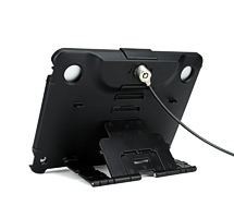 iPad Security Case with Lock and Stand for All Generations of iPad