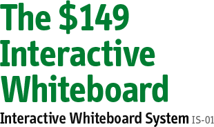 Simple, Powerful, Affordable Interactive Whiteboard System